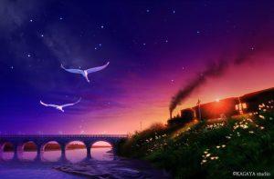 """コニカミノルタプラネタリウム""""満天""""in Sunshine City『銀河鉄道の夜』"""