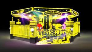パックマンをフィーチャーしたメリーゴーラウンド「パックマンゴーラウンド」 (C)BANDAI NAMCO Entertainment Inc. (C)BANDAI NAMCO Amusement Inc.