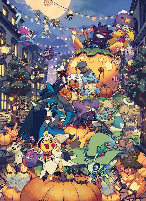 ハロウィンのお祭りを楽しむポケモンたちのグッズ 新商品が登場!