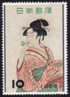 ビードロを吹く娘(日本 1955)