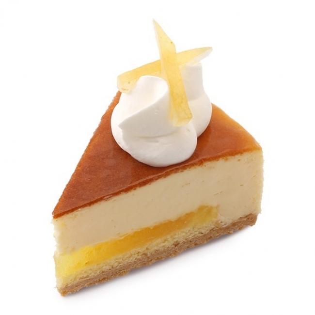アンテノール/瀬戸内レモンのチーズケーキ (1個)540円 北海道産クリームチーズのコクに瀬戸内レモンの甘酸っぱいコンフィチュールを焼き込んで。しっとり、ふんわり絶妙な食感。
